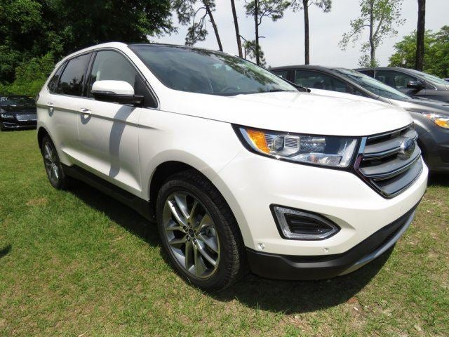 Ford Edge Awd Titanium A  L In Sanford Nc Crossroads Ford Sanford